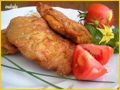 Prsíčka nakrájíme na medailonky.Do misky dáme vejce,pivo,sojovou omáčku,hořčici a solamyl s hl.moukou.Vyšleháme v hladké těstíčko a do toho pak... Czech Recipes, Ethnic Recipes, Food 52, Tandoori Chicken, Baked Potato, Chicken Recipes, Good Food, Turkey, Potatoes