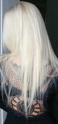 White blonde <3