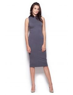 OtherEden - high quality lingerie and fashion from the best European brands. Enjoy your shopping! Sexy Dresses, Dresses For Work, Quality Lingerie, Pencil Dress, Gray Dress, Nightwear, Going Out, High Neck Dress, Feminine