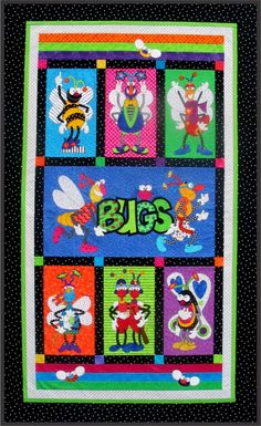 Amy Bradley Designs Snugly Bugly downloadable quilt pattern