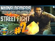 Marvel Nemesis: Rise of the Imperfects Walkthrough Street Figth parte #2
