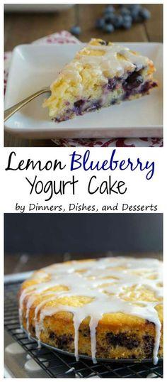 Lemon Blueberry Yogu