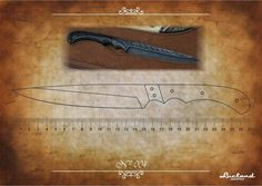 Knife Template, Diy Knife, Knife Patterns, Throwing Knives, Fixed Blade Knife, Custom Metal, Damascus Steel, Knife Making, Metal Working