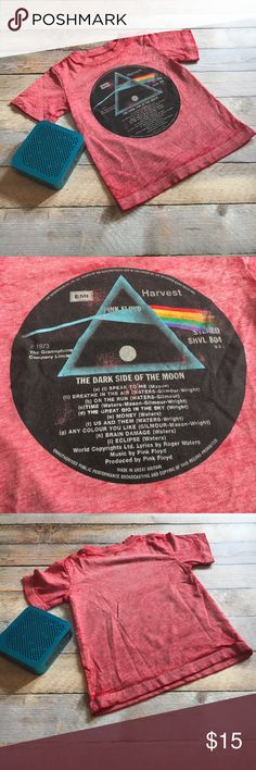 Like New Pink Floyd Tee ✔️Like New Pink Floyd Tee ✔️Size 2T ✔️100% Cotton  ✔️No defects or stains soft from washing. Good condition with a lot of life left in it. This shirt does have an aged look, but it came that way brand new. Pink Floyd Shirts & Tops Tees - Short Sleeve