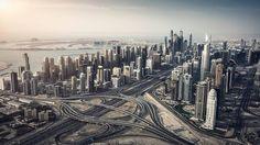 Aerial Dubai 2 - shit from a S800 EVO drone
