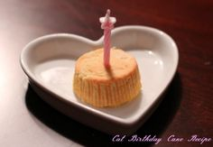 You Are Celebrating The Birthday Of Your Pet Cat Should Make A Cake That They Can Eat With Pleasure So Heres Recipe To For Cats