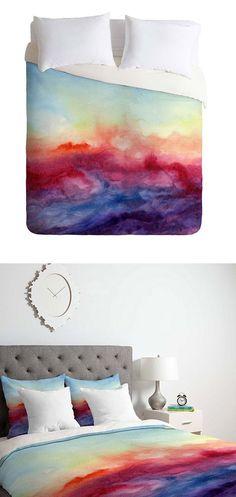 Fleeting Sunset Duvet Cover