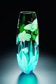 Resultado de imagen de jarrones de cristal lalique