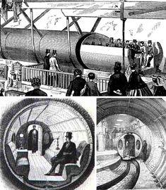 Pneumatic tube transport system