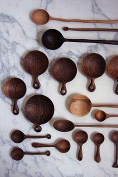 Carved spoons by Ariele Alasko