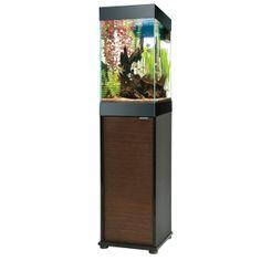 Aqueon® 15 Gallon Column Deluxe Aquarium Kit - PetSmart....this is an aquarium I'm looking into buying in the future...