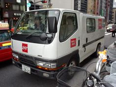 Coca-Cola truck in Tokyo Japan