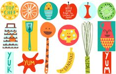 debbie powell for jamie oliver. happiest prints ever!