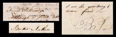 Samples of correspondence between Nathan Hale and Benjamin Tallmadge. The…