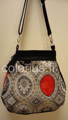 ornamentti kulta hohto laukku käsilaukku handbag colorius vaihtokuoret