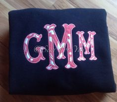 The newest applique font I have purchased and stitched out....love it!