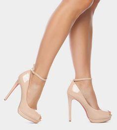 Enetta Nude Heel