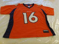NFL Denver Broncos Jake Plummer # 16 Jersey by Reebok, Womens Large #Reebok #DenverBroncos