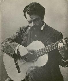 Francisco Tarrega: great composer and guitar player.