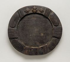 Africa | Divination board for Ifa Priest. Yoruba peoples, Nigeria