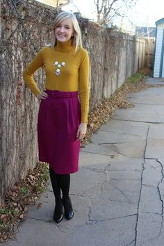 Purple vintage skirt available at Etsy.com!