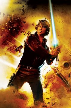 Heir to the Jedi cover featuring Luke Skywalker Star Wars Pictures, Star Wars Images, Mark Hamill, Star Wars Jedi, Star Trek, Fan Fiction, Science Fiction, Nathan Uncharted, Heir To The Jedi