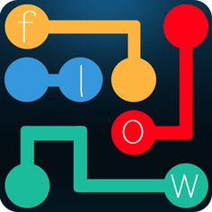 Flow Bridges Game - Connect matching colors (Dots) with pipe and create a Flow (Path). But be care, if they cross or overlap, pipes will break…!!  https://play.google.com/store/apps/details?id=com.kkrinsigames.flowfree