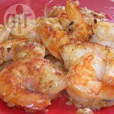 """Foto de la receta: Camarones al mojo de ajo """"La Muca"""""""