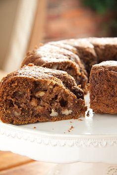 Maple and Pecan stuffed Coffee Cake - Simply Delicious Food Blog