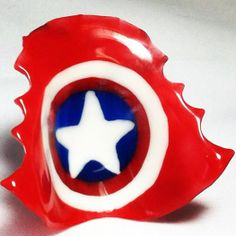 Captain America Retainer!  Retainers by  http://www.artortho.com/