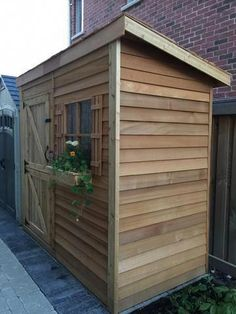 Bayside - Lean To Storage Sheds For Sale Storage Sheds For Sale, Storage Shed Kits, Small Storage, Backyard Storage Sheds, Storage Ideas, Cedar Shed, Wood Shed, Lean To Shed, Build Your Own Shed