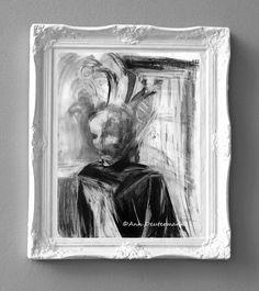 Jack Vettriano Her Secret Life Framed /& Mounted Print Thin Black FREE P+P