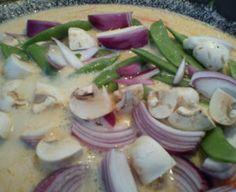 Thaigryte/thaisuppe med kylling eller fisk