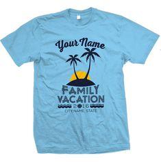 bcaa4becccdc Family vacation custom t-shirt design idea s! Create your own design ...