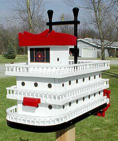What A Design!!!: Unusual Mailboxes!