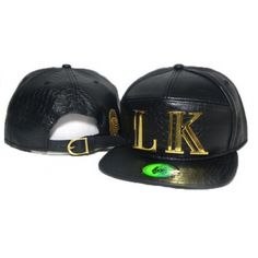 Born to be a king? Show the world that you rule with Last Kings LK Logo Strapback Hat!