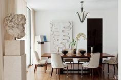 Designers' and Architects' Own Dining Rooms Photos | Architectural Digest