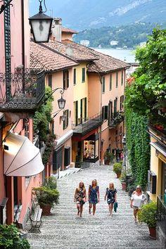 Tällainen on Comojärven kuuluisa Bellagio Italia