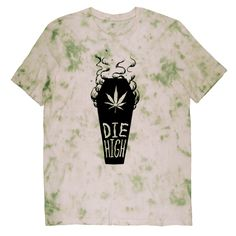Die High Tee Black on Tie Dye – Killer Condo
