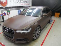 Folierung eines Audi A6
