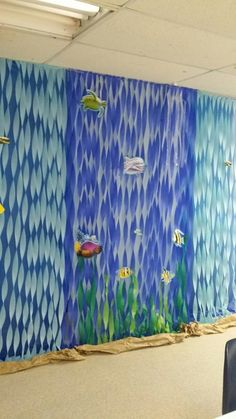 vbs themes under the sea ~ vbs themes _ vbs themes ideas _ vbs themes for 2020 _ vbs themes ideas vacation bible school _ vbs themes 2020 _ vbs themes camping _ vbs themes under the sea _ vbs themes space Vbs Themes, Ocean Themes, Beach Themes, Under The Sea Theme, Under The Sea Party, Decoration Creche, Under The Sea Decorations, Underwater Theme, Mermaid Birthday