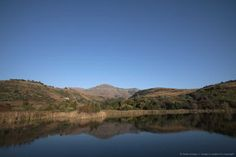 South Africa, KwaZulu Natal, Central uKahlamba Drakensberg mountain range. Early morning light marks the beginning of a new day.