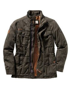 Mens Fashion Wear, Men's Fashion, Fashion Outfits, Denim Outfit, Gore Tex, Mens Clothing Styles, Dress To Impress, Military Jacket, Camel