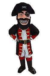 Redbeard Mascot, Pirate Mascot, Fierce Pirate Mascot