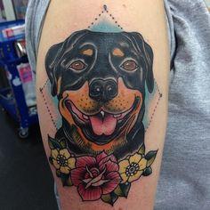.@ngxxx | rottweiler tattoo