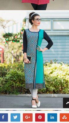Salwar Designs, Kurta Designs Women, Blouse Designs, Mehndi Designs, Stylish Dress Designs, Stylish Dresses, Casual Dresses, Kurta Style, Kids Frocks Design