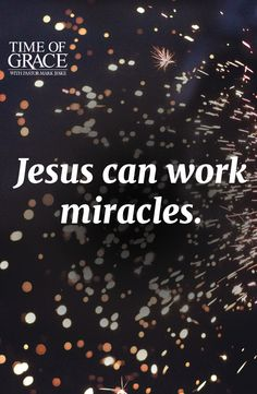 Jesus is able. #miracles #Grace #Scripture #inspiration