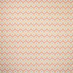 Warwick Fabrics : SADIE, Colour CORAL