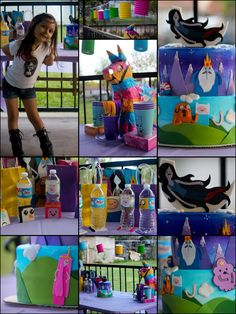 Adventure Time birthday party ideas from how to make balloon ...