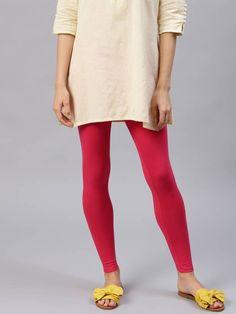 Leggings Types : Based on Fabric, Length & Style Glitter Leggings, Red Leggings, How To Wear Leggings, Women's Fashion Leggings, Cotton Leggings, Leather Leggings, Printed Leggings, Treggings, Indian Fashion Trends